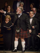 Our Scotsman, Ray Harrison - Associate Director of the Chorale Singers